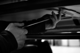 Casucci dent repair levabolli debosselage riparazione auto matenedo intatta la vernice originale.